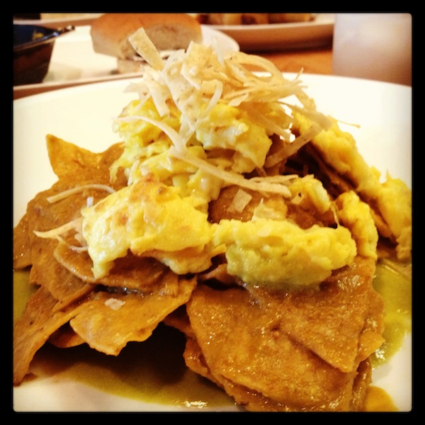 Mexico City Chilaquiles